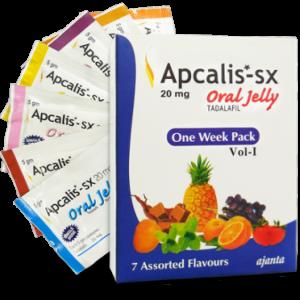 Generisk  TADALAFIL til salgs i Norge: Apcalis SX Oral Jelly 20mg i online ED-piller shop divide-et-impera.org