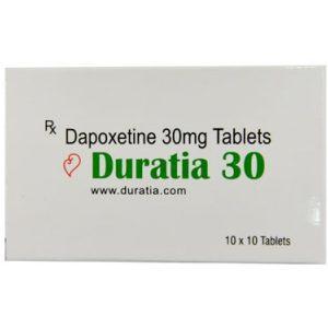 Generisk  DAPOXETINE til salgs i Norge: Duratia 30 mg i online ED-piller shop divide-et-impera.org