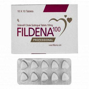 Generisk  SILDENAFIL til salgs i Norge: Fildena Professional 100 mg i online ED-piller shop divide-et-impera.org